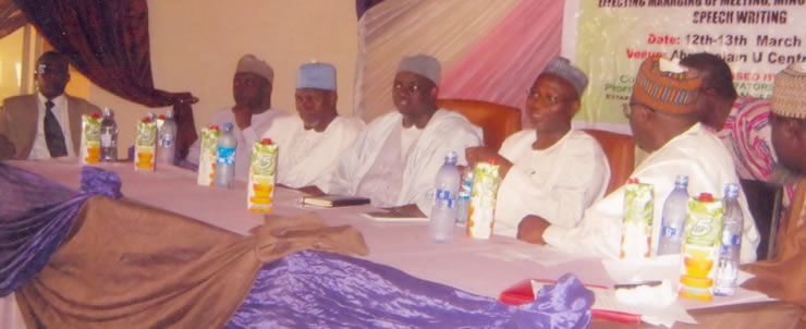 CASPIN 2-day workshop in collaboration with Niger state local government commission