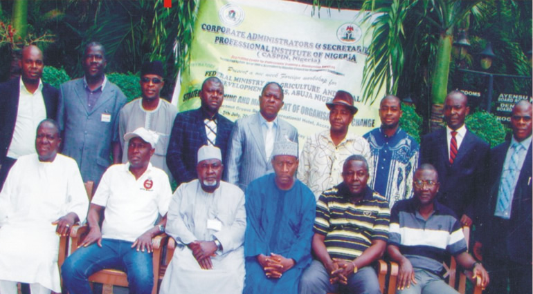 CASPIN One-week International workshop with Federal Ministry of Agriculture, Abuja