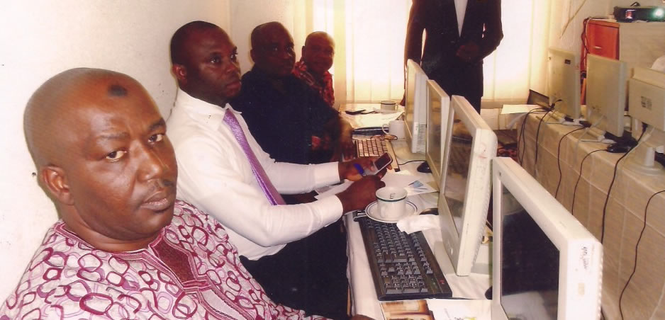 During CMD Accreditation visit to CASPIN office