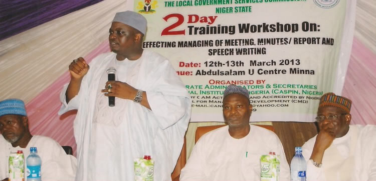 Prof Muhammed Kuta Yahaya @ NLSGC workshop organized by CASPIN